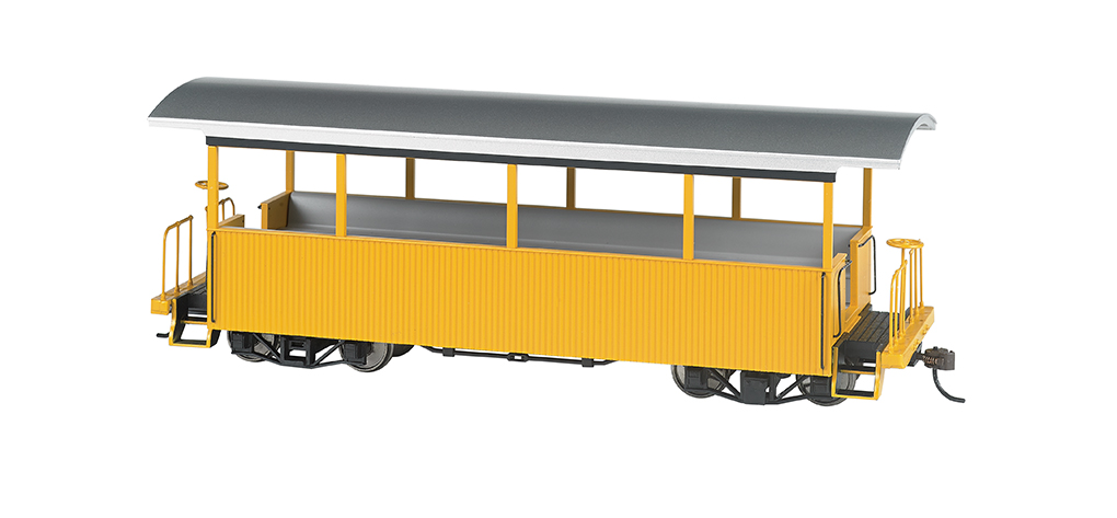 Bachmann 26003 On30 Wood Excursion Car Painted Unlettered