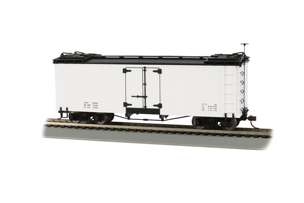 White with Black Roof - Reefer - Data Only