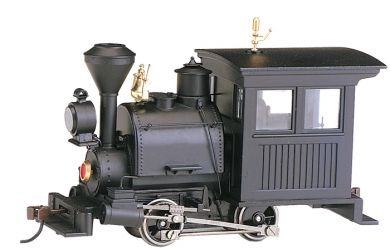 Black W/ Vertical Cab Panel - 0-4-0 Porter - DCC