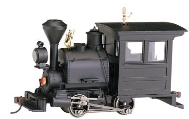 Black W/ Horizontal Cab Panel - 0-4-0 Porter - DCC
