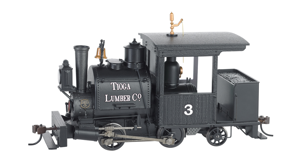 Tioga Lumber Co. #3 0-4-2 Porter - DCC Sound