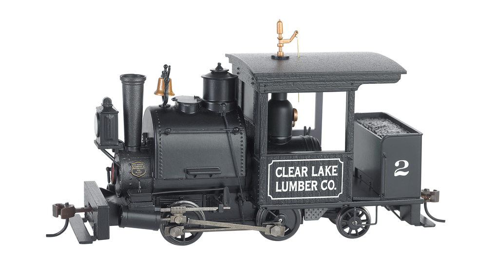 Clear Lake Lumber Co. #2 0-4-2 Porter - DCC Sound