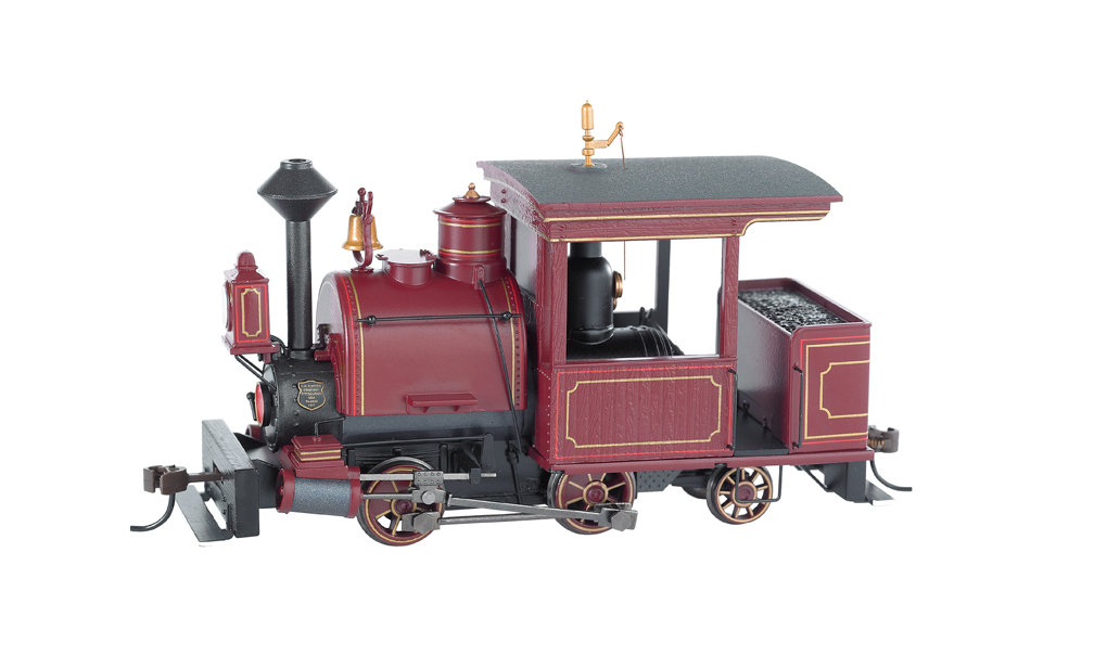 Maroon, Unlettered 0-4-2 Porter - DCC