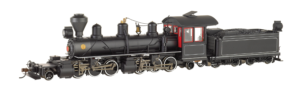 Painted, Unlettered - Black W/Red & White Trim - 2-6-6-2 - DCC
