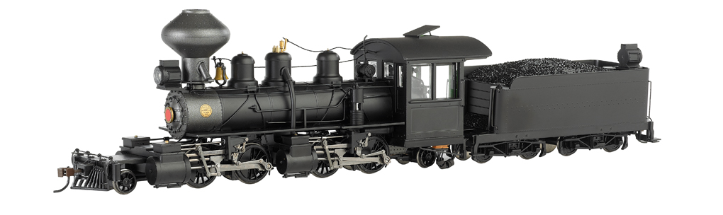 Black Wood Cab - Baldwin 2-4-4-2 - DCC