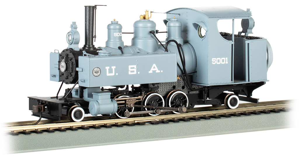 USA #5001 (builder's photo version) Trench Engine DCC WOWSOUND®