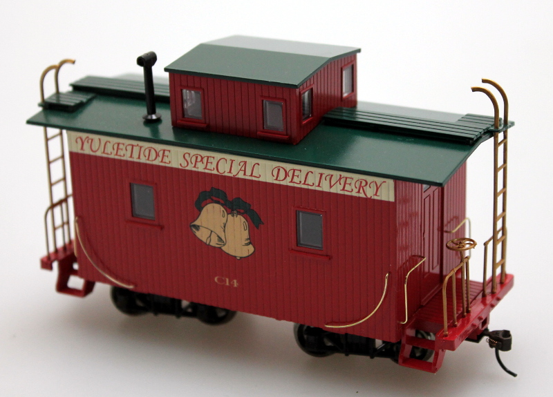 Caboose - Yuletide Special (On30 scale)