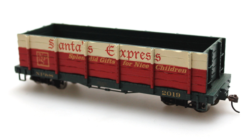 Gondola - Santa's Express (On30 scale)
