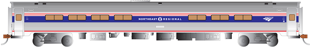 Amfleet® I Cafe Car - NE Regional™ Phase VI
