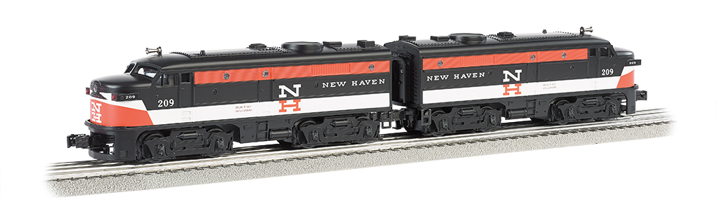 New Haven #209 - O-27 Alco FA-2 Powered A / Dummy