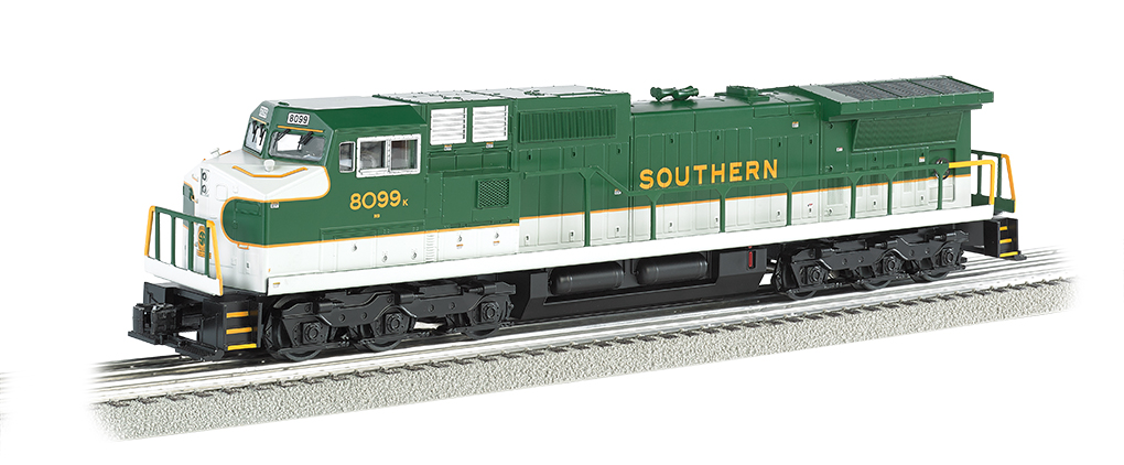 Southern #8099 GE DASH 9 w/ True Blast® Plus