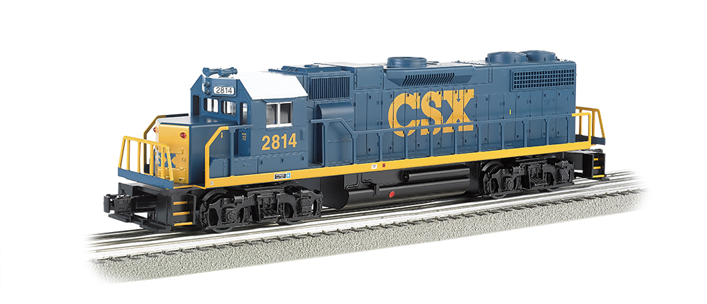 CSX® #2814 (Dark Future) - GP-38 Powered - Click Image to Close