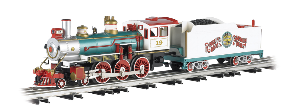 Ringling Bros. And Barnum & Bailey™ - Baldwin 4-6-0