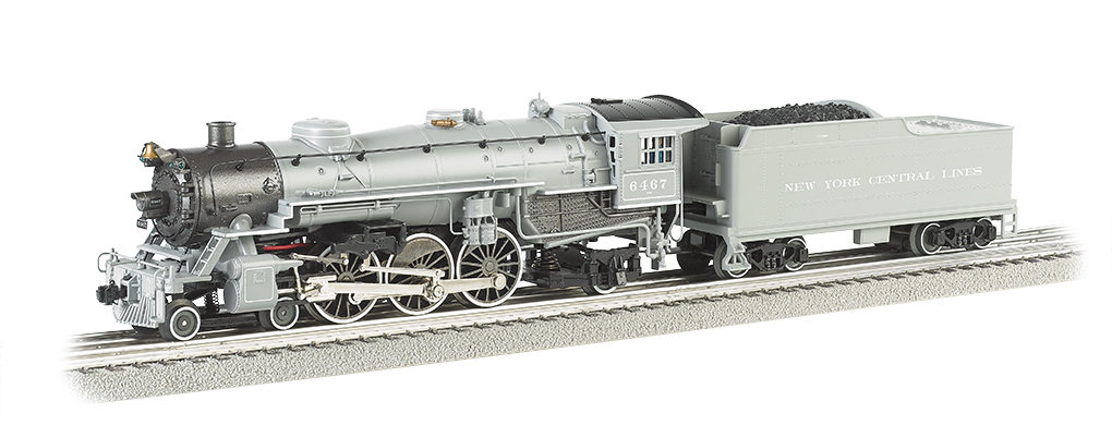 New York Central® #6467 Semi-Scale 4-6-2 Pacific