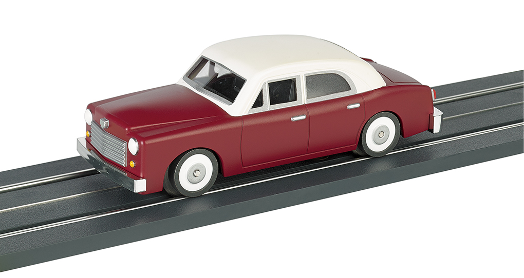 E-Z Street™ Maroon Sedan - Click Image to Close