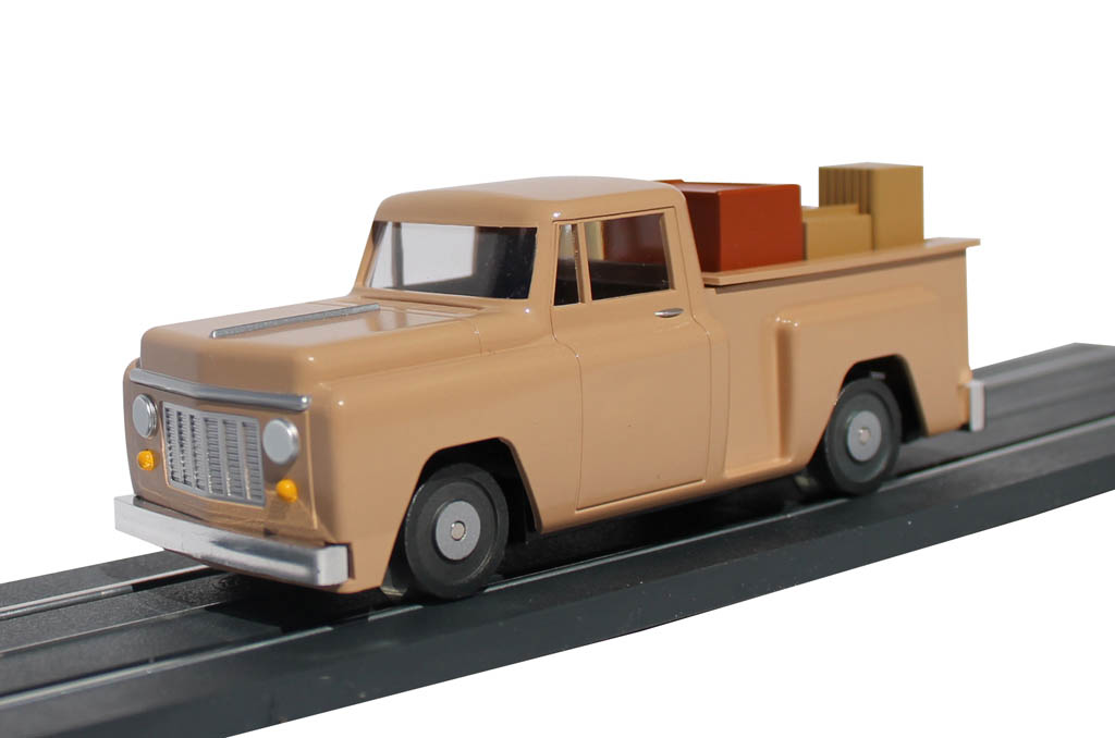 E-Z Street™ Pickup Truck - Beige - Click Image to Close