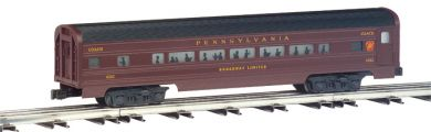 PRR - Tuscan - 60' Aluminum Streamliners Combine & Diner