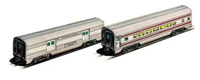 PRR - Congressional - 60' Aluminum Streamliners (Baggage & Coach