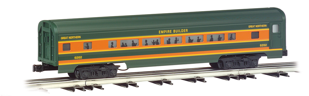 Great Northern - 60' Aluminum Streamliners 4 Car Set