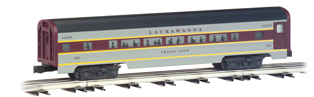 Lackawanna - 60' Aluminum Streamliners 4 Car Set
