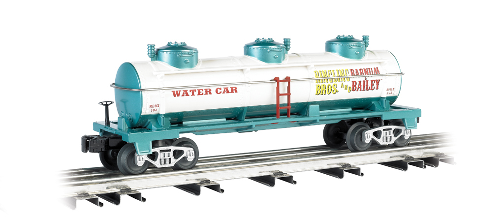 Ringling Bros. and Barnum & Bailey® #103 3-Dome Water Car - Click Image to Close