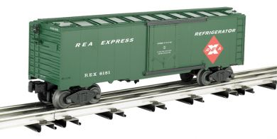 REA Express - Modern - 40' Refrigerated Steel Box Car
