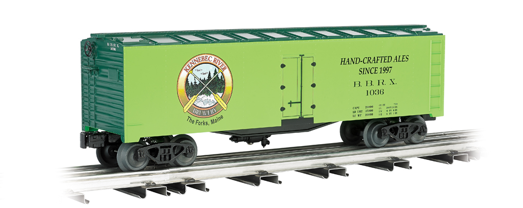 Kennebec Brewing - 40' Refrigerated Steel Box Car