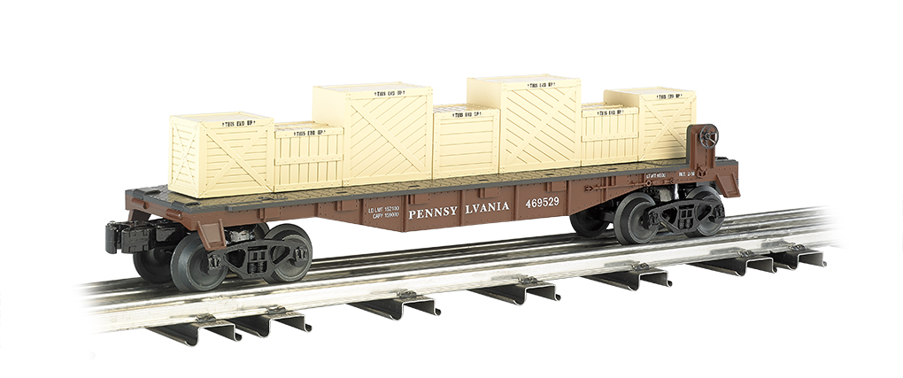 Pennsylvania - Flat car w/ crates