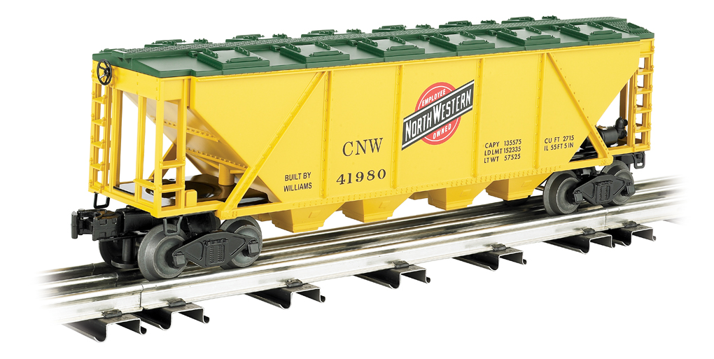 Chicago & Northwestern™ - Covered Quad Hopper