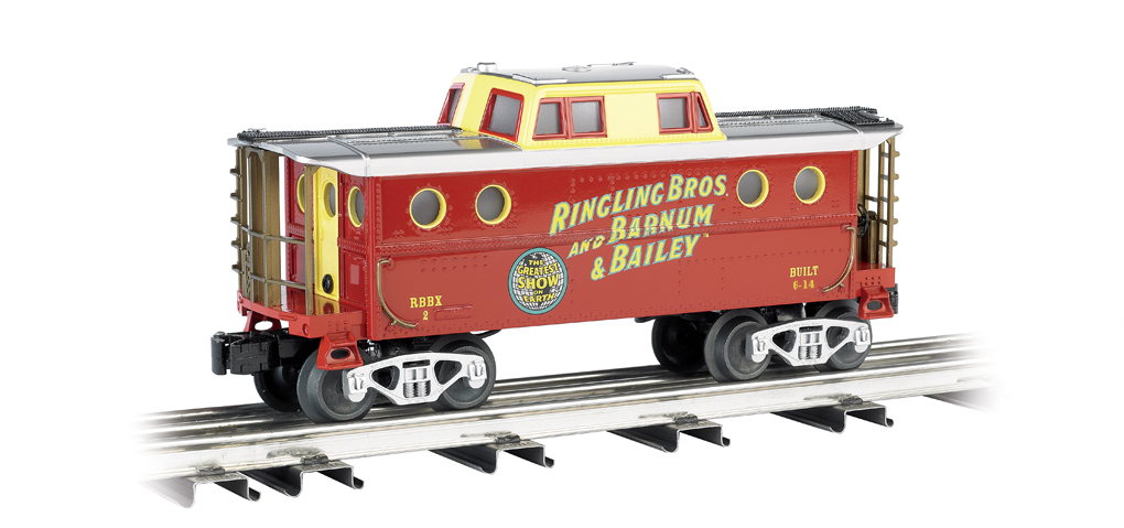 Ringling Bros. and Barnum & Bailey® #2 - N5C Porthole Caboose