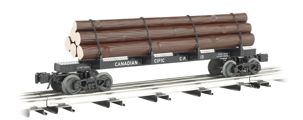 Canadian Pacific - Skeleton Log Car