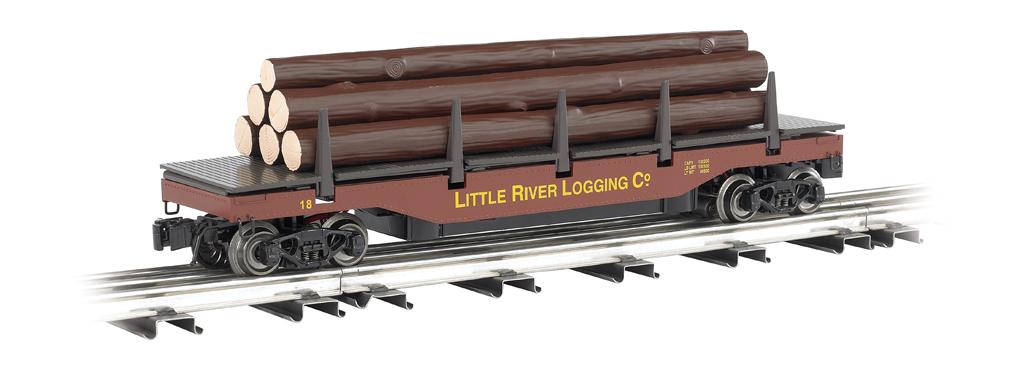little river logging company operating log dump car 47929 bachmann trains online. Black Bedroom Furniture Sets. Home Design Ideas