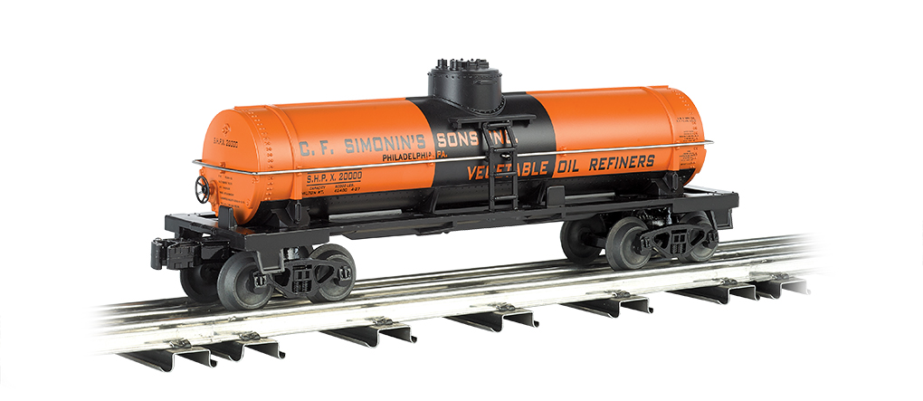 C. F. Simonin's Sons. Inc. - Single-Dome Tank Car