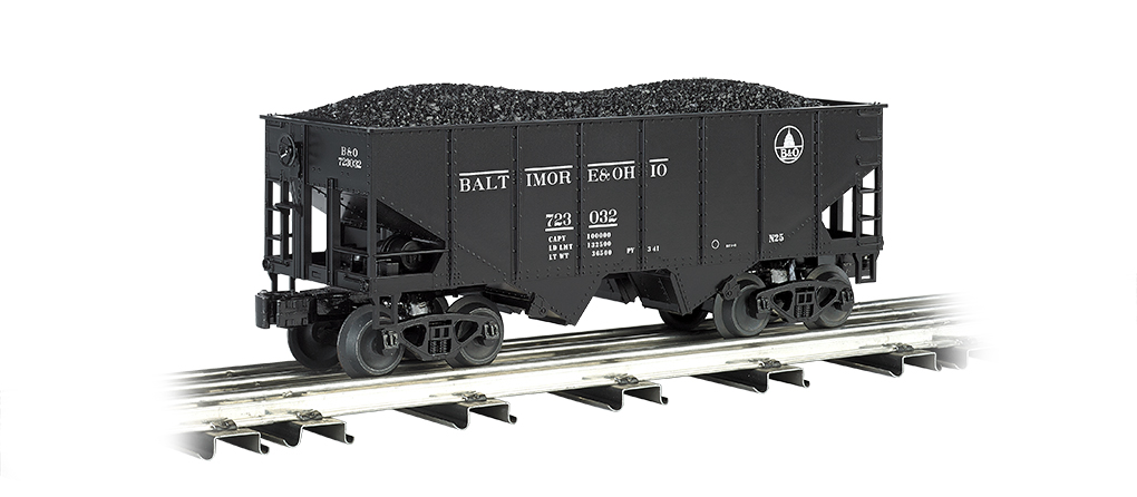 Baltimore & Ohio 55-Ton 2-Bay USRA Outside Braced Hopper