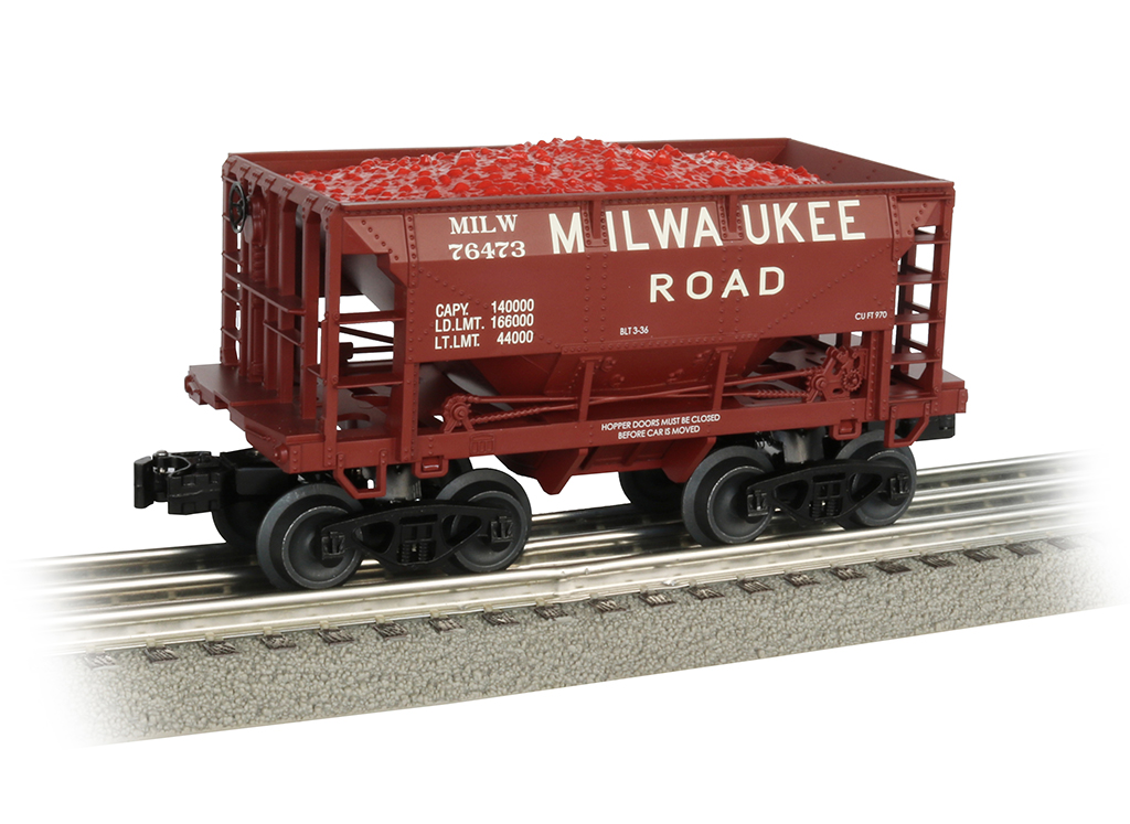 Milwaukee Road 70-Ton Ore Car